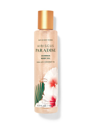 Hibiscus Paradise fragranza Olio corpo illuminante