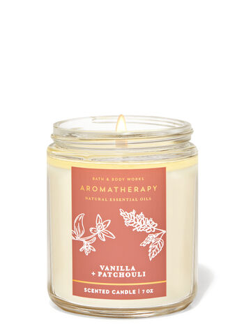 Vanilla_Patchouli fragranza Candela a 1 stoppino