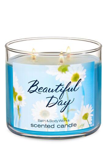 Beautiful Day fragranza Candela a 3 stoppini