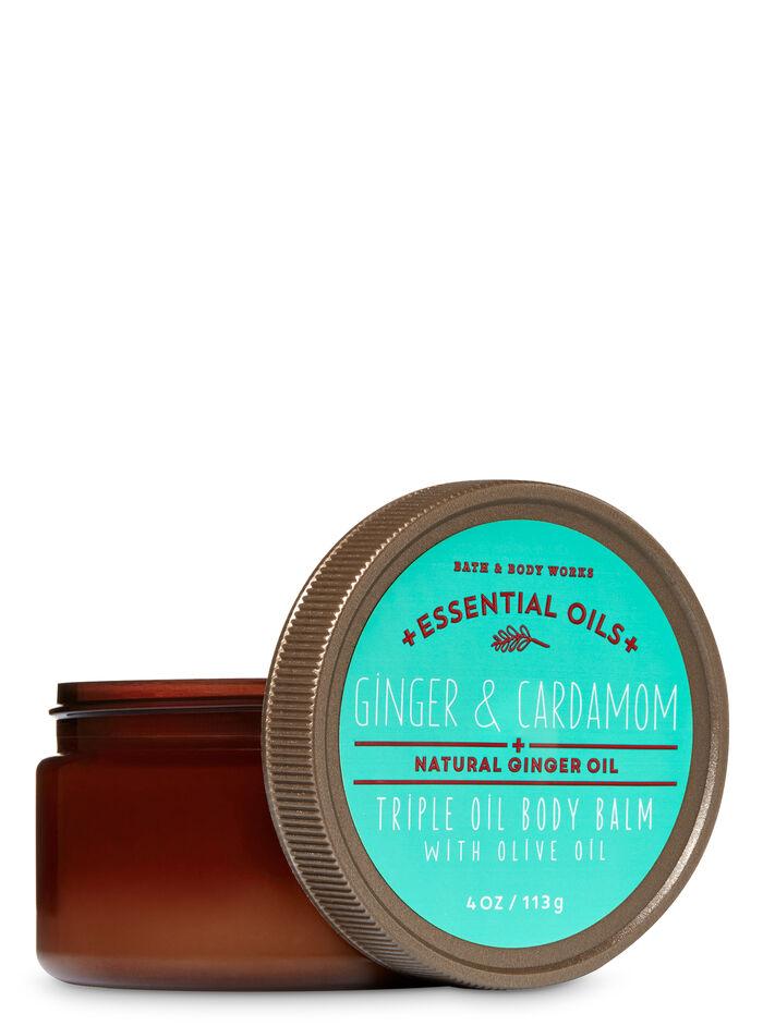 GingerAndCardamom fragranza Triple Oil Body Balm with Olive Oil