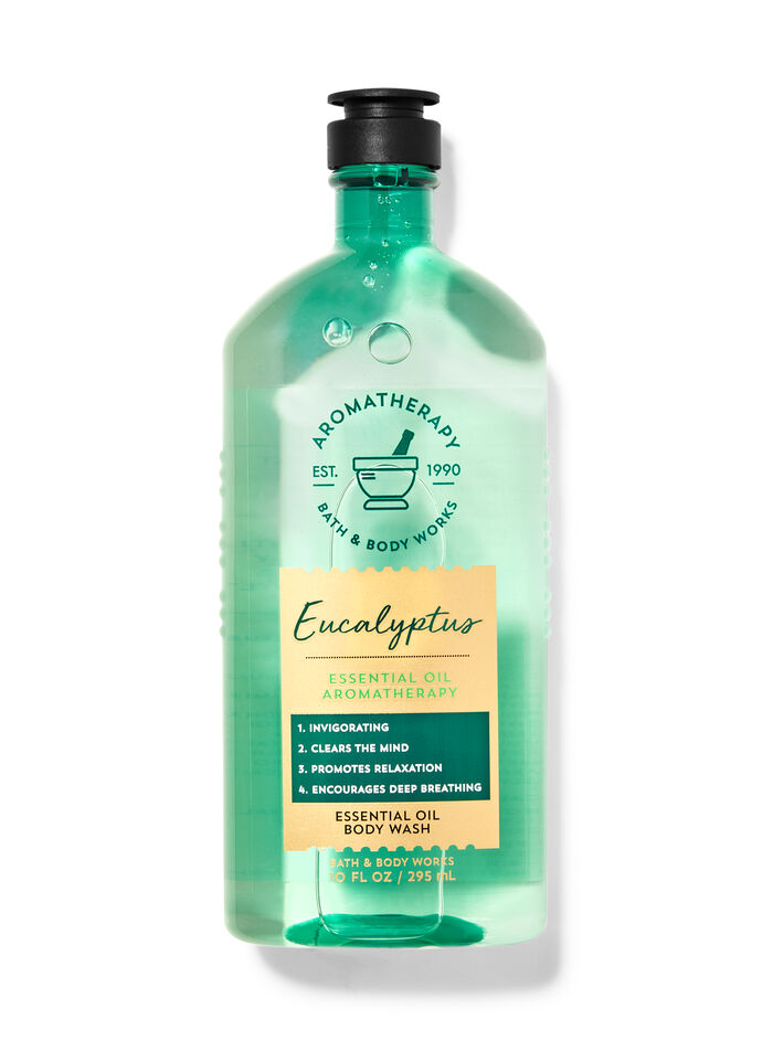 Eucalyptus fragranza Essential Oil Body Wash
