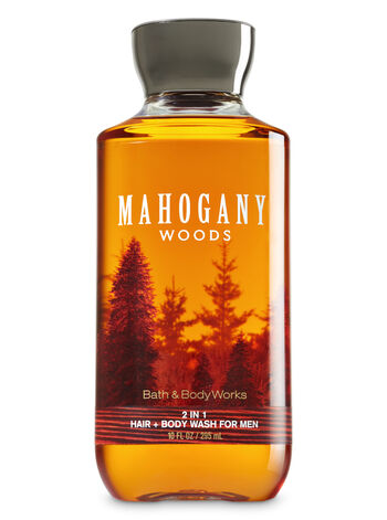 Mahogany Woods fragranza 2-in-1 Hair + Body Wash