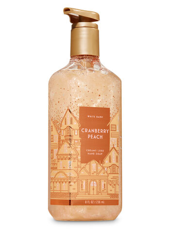 Cranberry Peach fragranza Sapone in crema