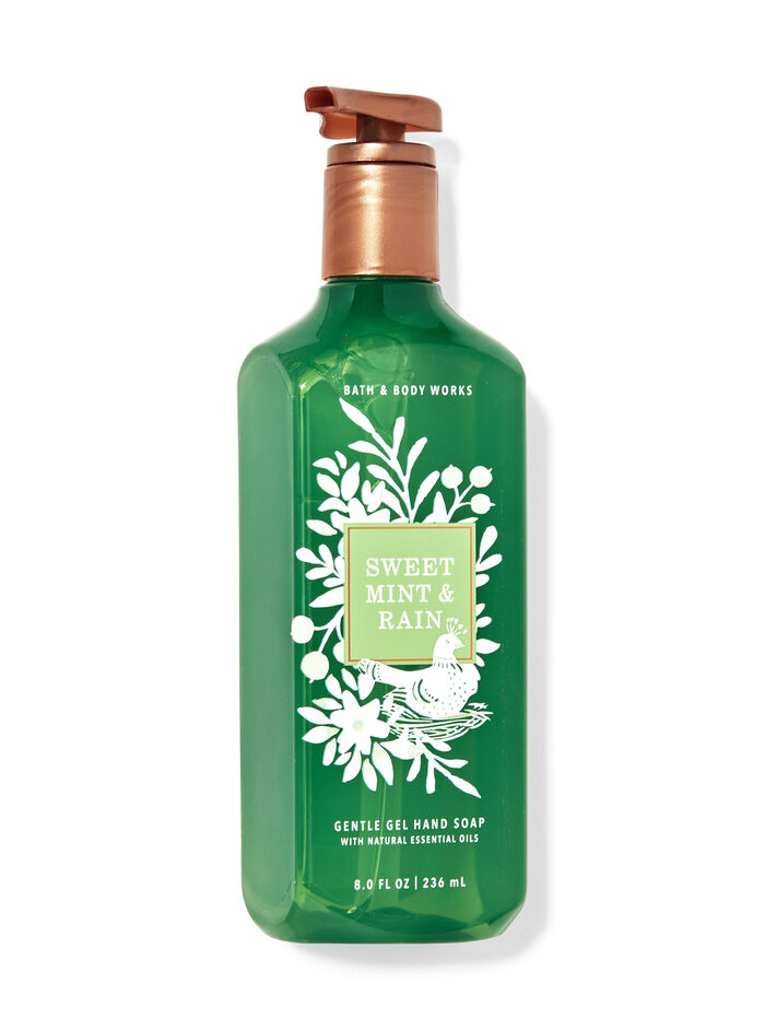 Sweet Mint & Rain fragranza Sapone in gel