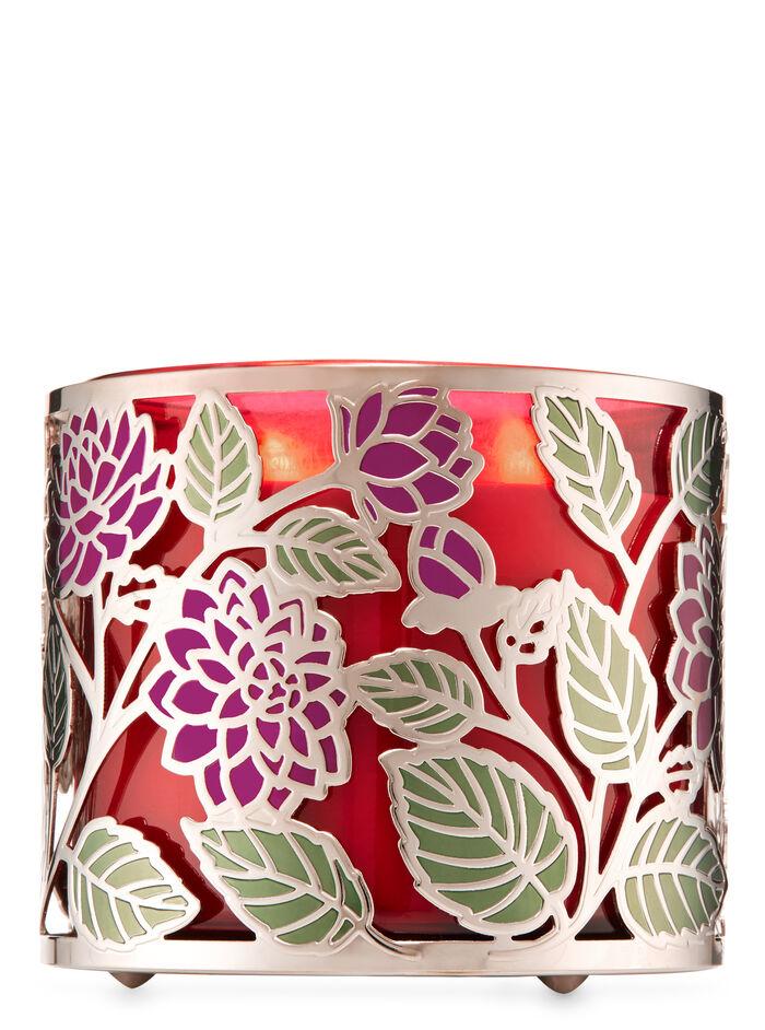 Dahlia fragranza 3-Wick Candle Holder