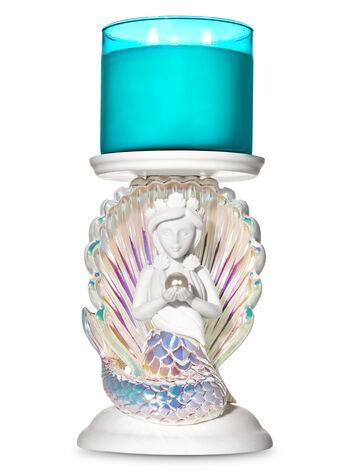 Mermaid Pedestal fragranza 3-Wick Candle Holder