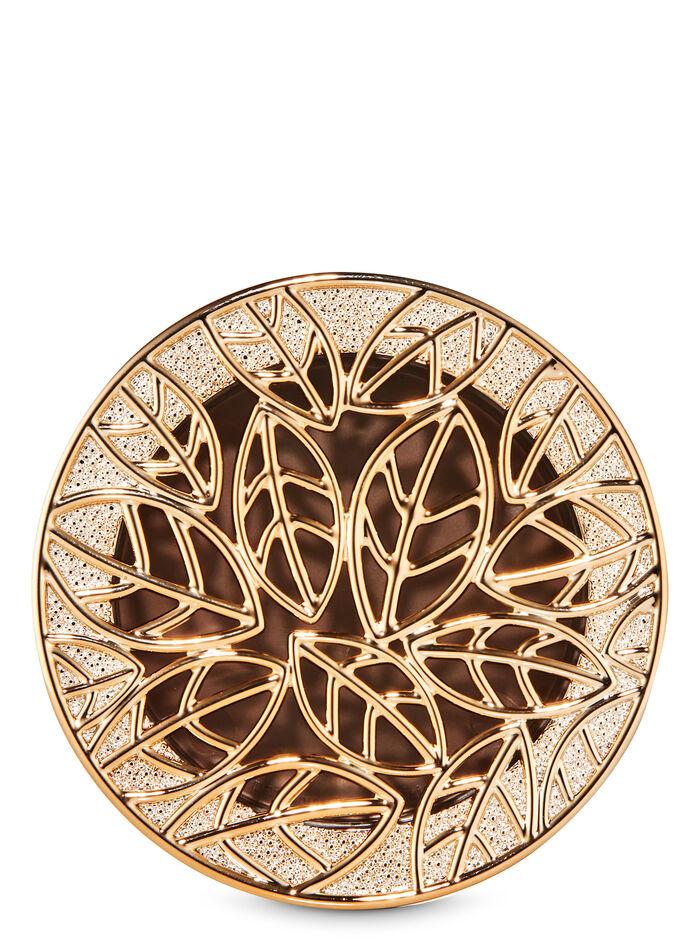 Gold Leaves Visor Clip fragranza Car Fragrance Holder