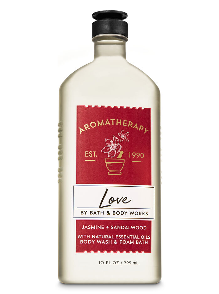 Jasmine Sandalwood fragranza Body Wash & Foam Bath