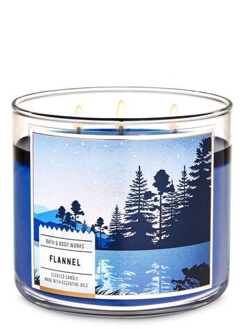 Flannel fragranza Candela a 3 stoppini