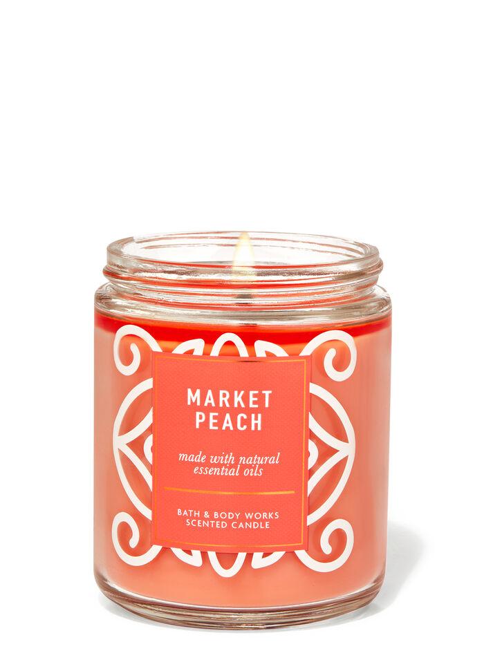 Market Peach fragranza Candela a 1 stoppino