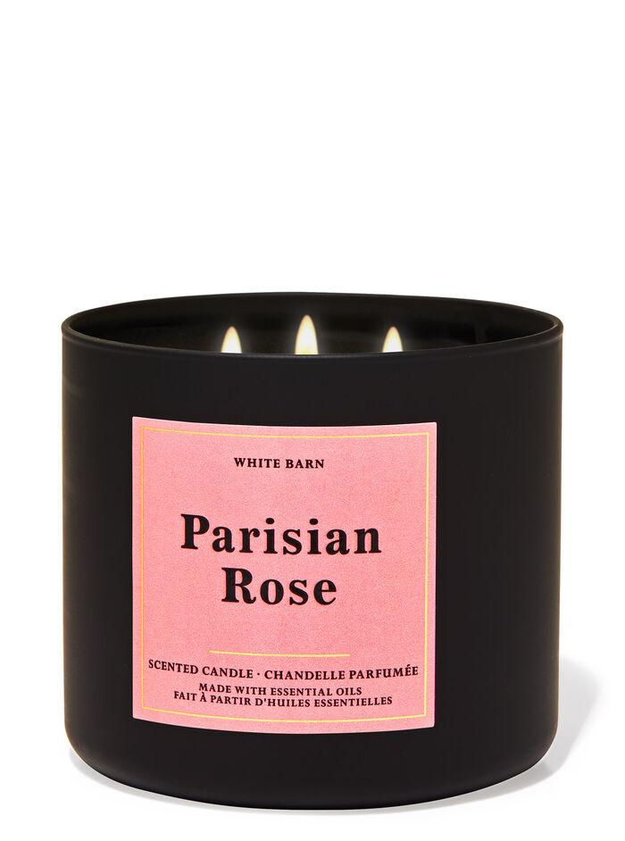Pariaian Rose fragranza Candela a 3 stoppini