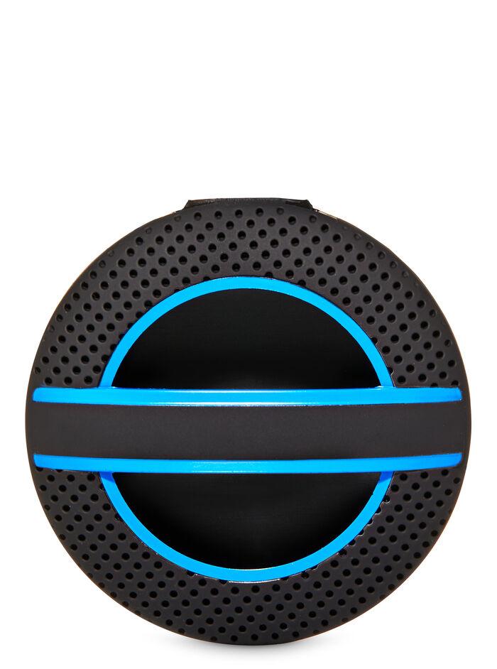 Blue Textured Soft Touch Visor Clip fragranza Diffusore per auto