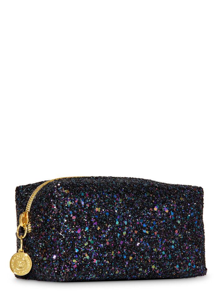 Black Glitter fragranza Cosmetic Bag