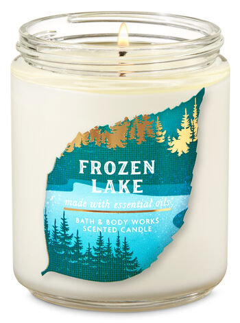 Frozen Lake fragranza Single Wick Candle