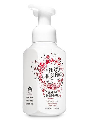 VANILLA SNOWFLAKE fragranza Sapone in schiuma