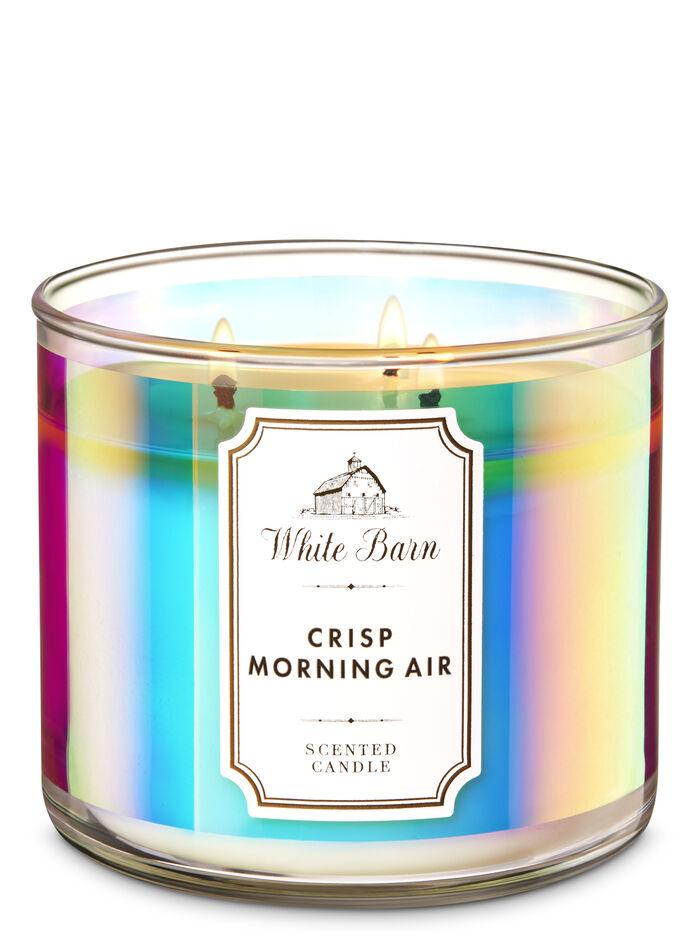 Crisp morning air fragranza Candela a 3 stoppini