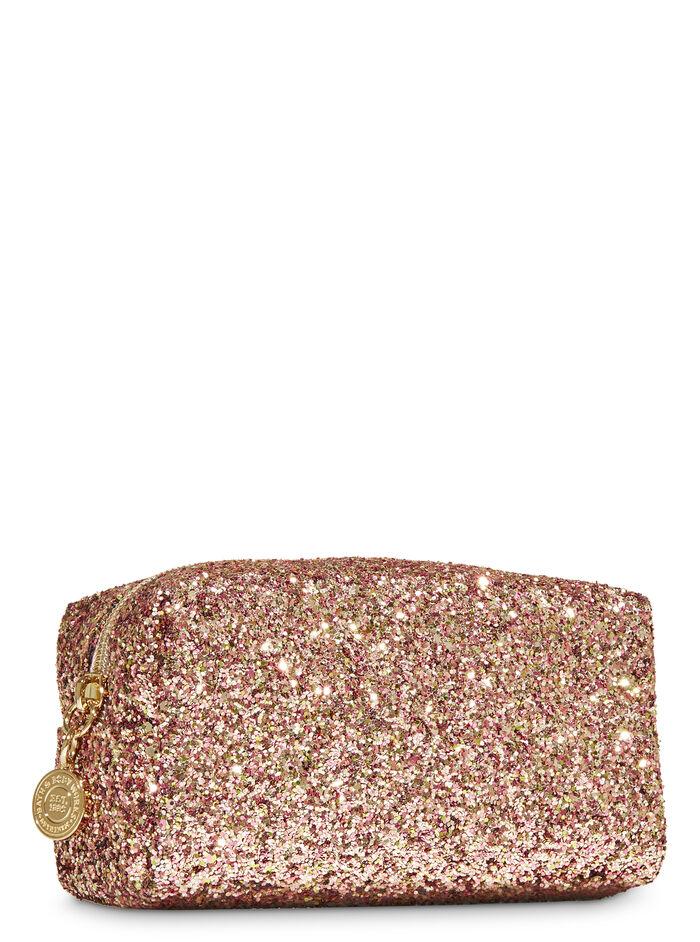 Rose Gold Glitter fragranza Cosmetic Bag