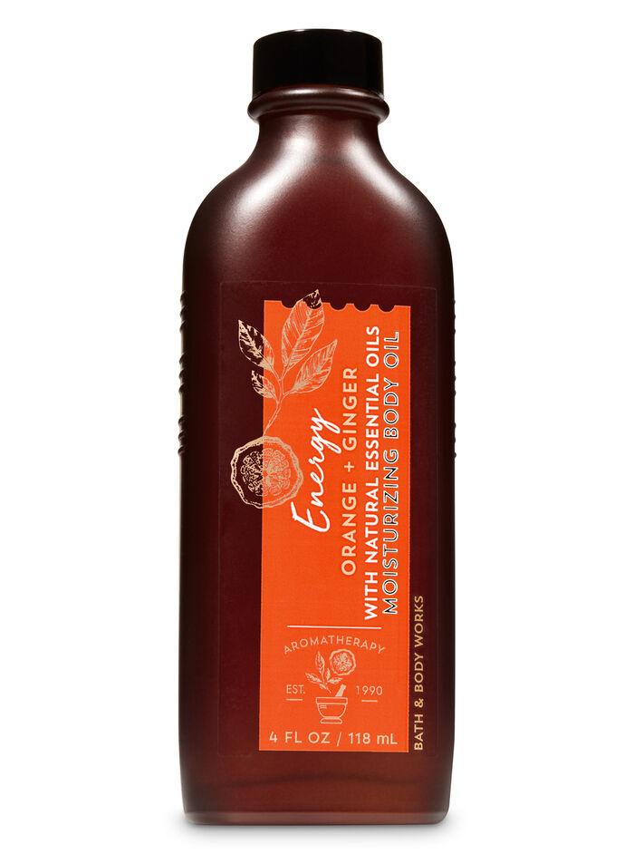 Orange ginger fragranza Olio idratante corpo