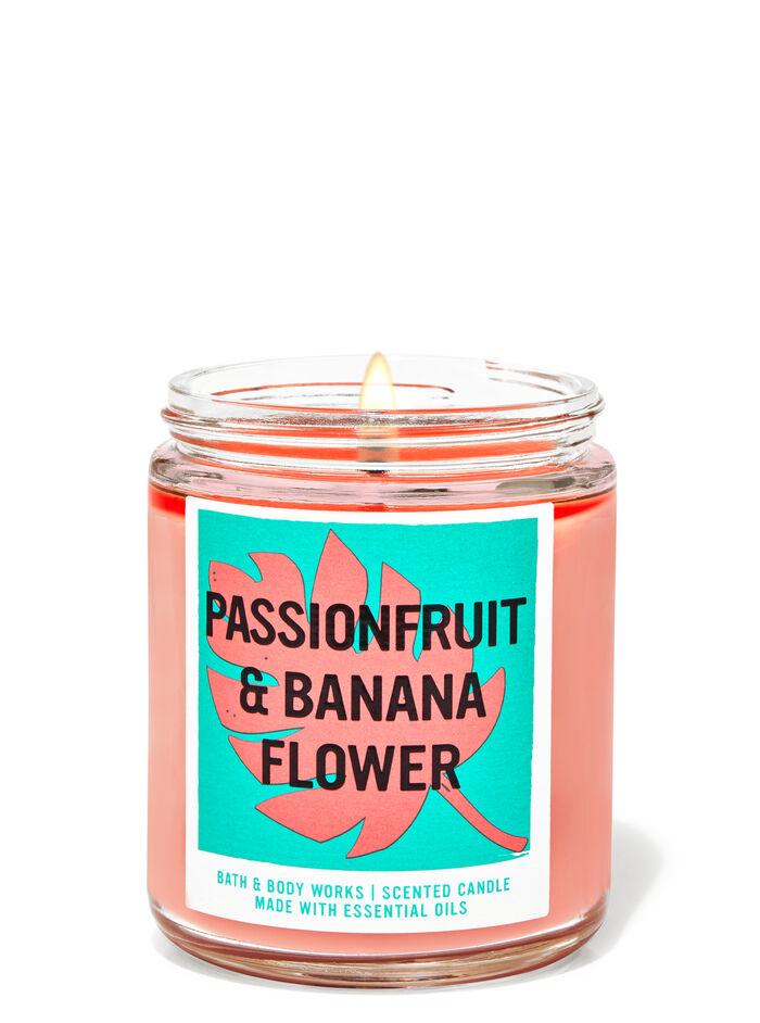 Passionfruit & Banana Flower fragranza Candela a 1 stoppino