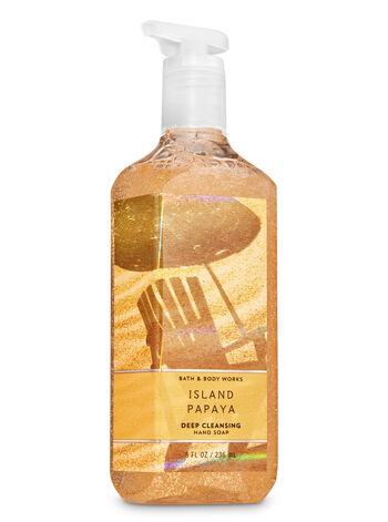 Island Papaya fragranza Deep Cleansing Hand Soap