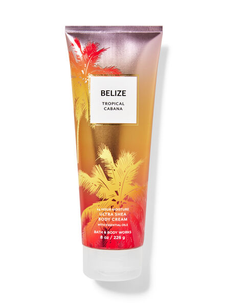 Belize Tropical Cabana fragranza Crema corpo ultra idratante