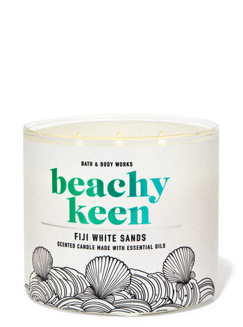 Fiji White Sands fragranza Candela a 3 stoppini