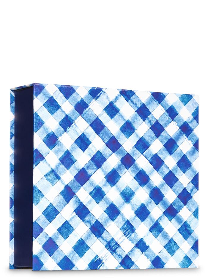 Gingham fragranza Gift Box Set