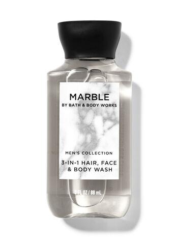Marble fragranza Mini Gel doccia shampoo 3 in 1