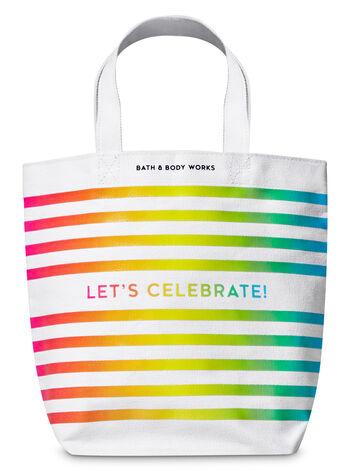 Let's Celebrate fragranza Canvas Gift Bag