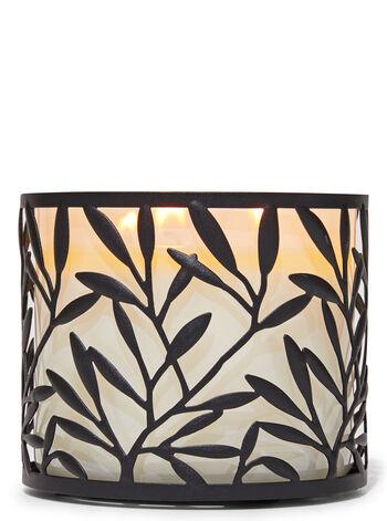 Pianta rampicante fragranza Porta candela a 3 stoppini