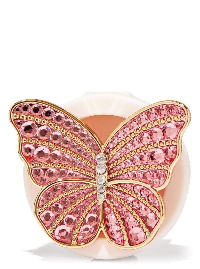 Clip con farfalla e gemme fragranza Diffusore per auto