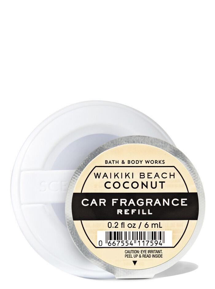 Waikiki Beach Coconut fragranza Ricarica profumatore auto