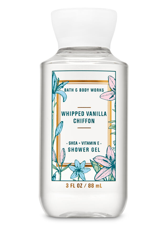 Whipped Van Chif fragranza Travel Size Shower Gel