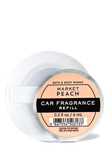 Market Peach fragranza Car Fragrance Refill