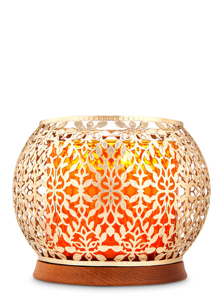 Gold Vines fragranza 3-Wick Candle Holder