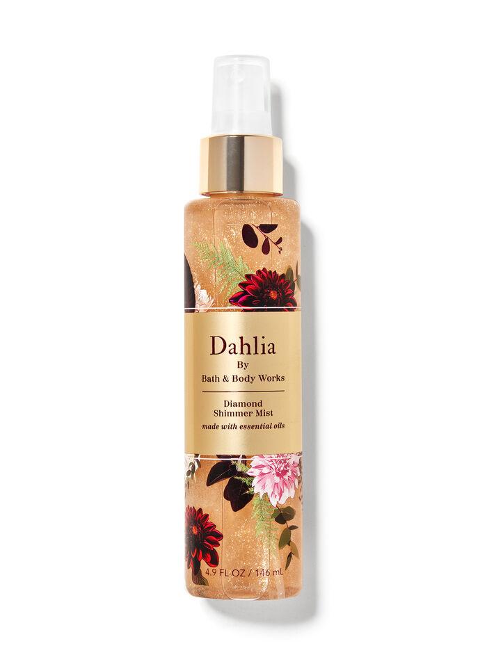 Dahlia fragranza Acqua profumata glitterata