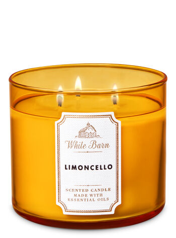 Limoncello fragranza 3-Wick Candle