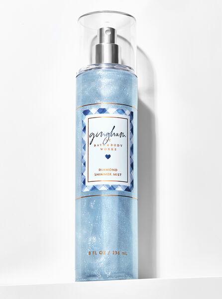 Gingham fragranza Acqua profumata glitterata