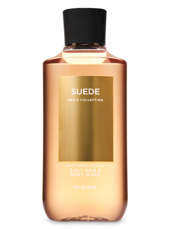 Suede fragranza 2-in-1 Hair + Body Wash