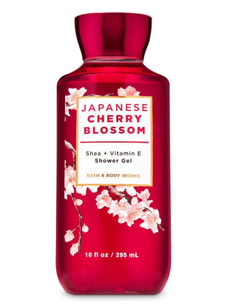 Japanese cherry blossom fragranza Gel doccia