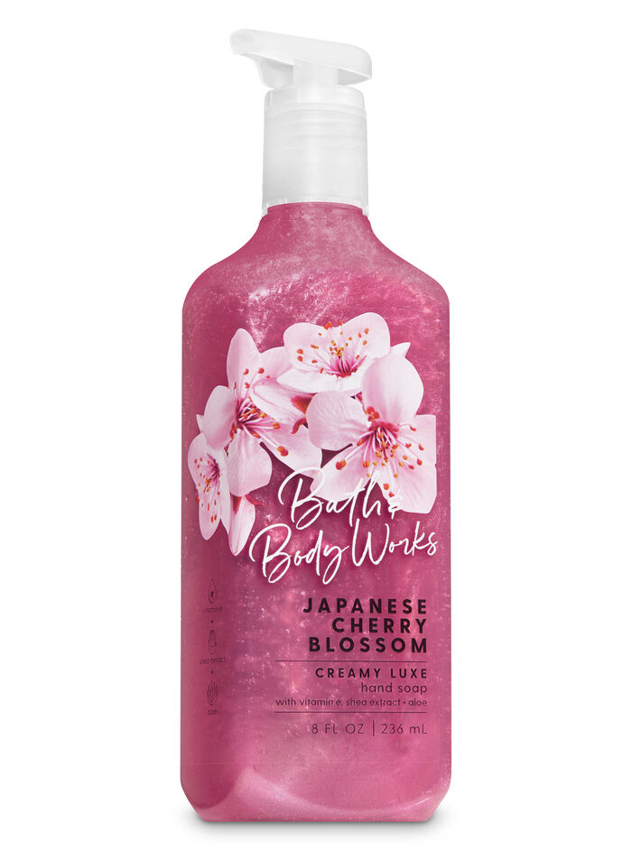 Japanese cherry blossom fragranza Sapone in crema