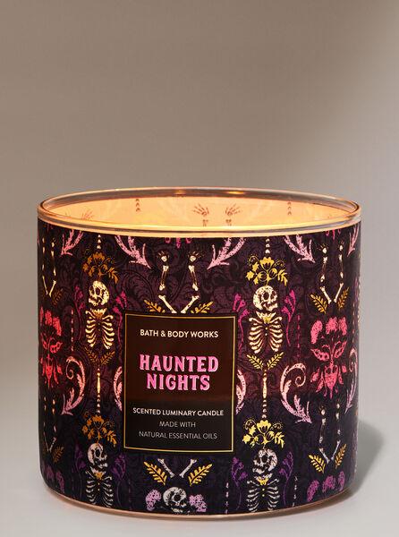 Haunted Nights fragranza Candela a 3 stoppini