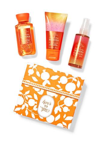 Sunshine Mimosa fragranza Mini set regalo