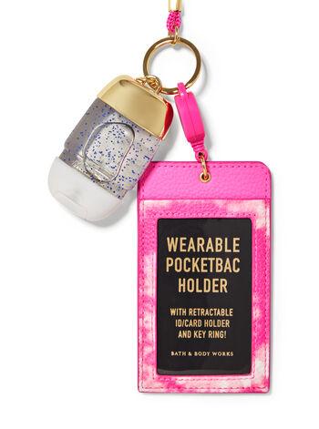 Laccio porta badge fragranza Porta igienizzante mani