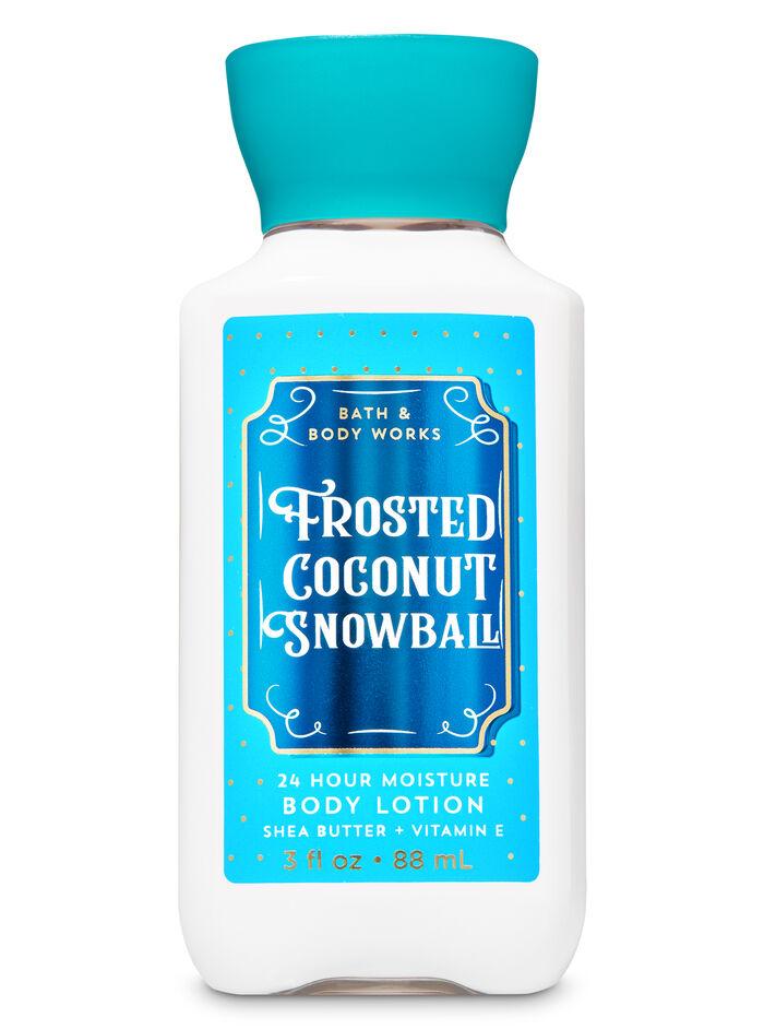 Frosted Coconut Snowball fragranza Mini Latte corpo