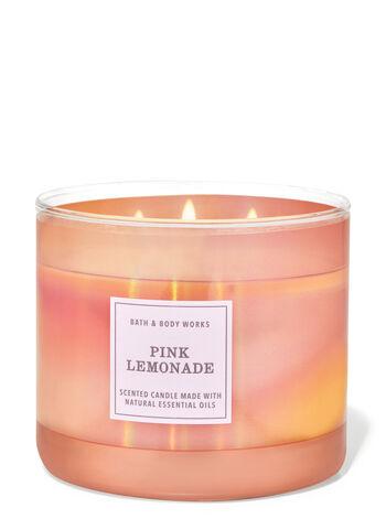 Pink Lemonade fragranza Candela a 3 stoppini