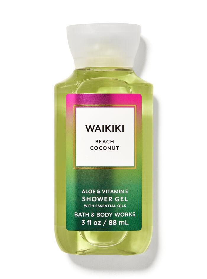 Waikiki Beach Coconut fragranza Mini Gel doccia