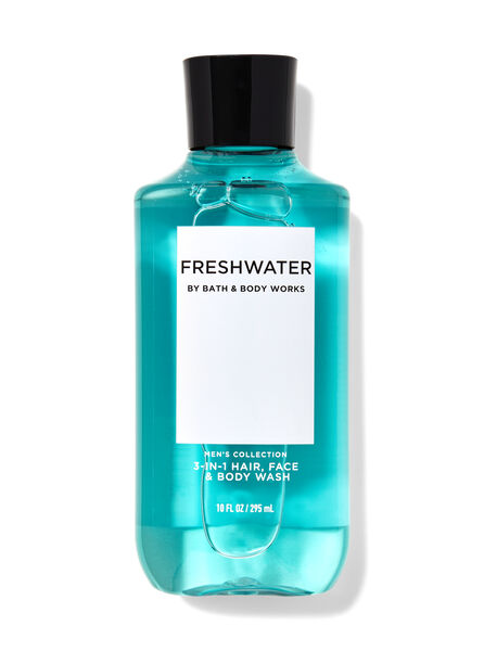 Freshwater fragranza Doccia shampoo 3 in 1