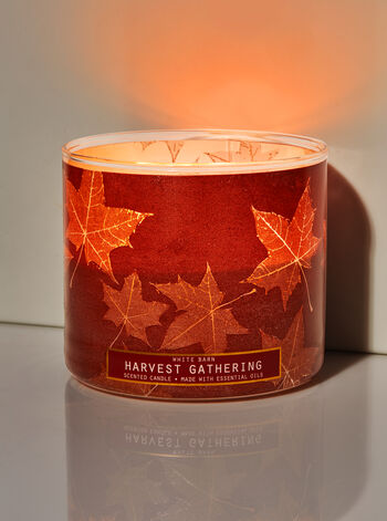 Harvest Gathering fragranza 3-Wick Candle