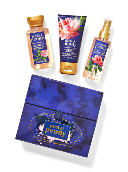 Perfect Peony fragranza Mini set regalo